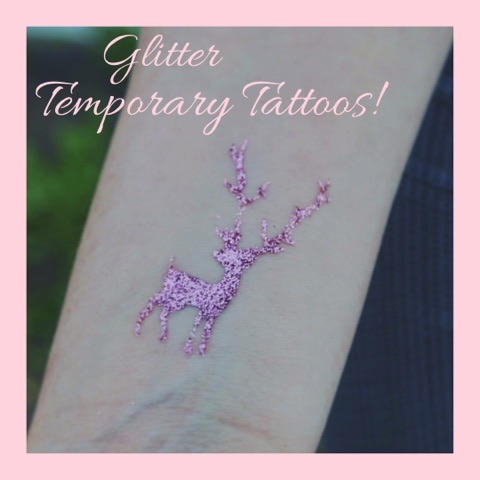 [REVIEW] Glitter Temporary Tattoos – Perfect For Festivals!