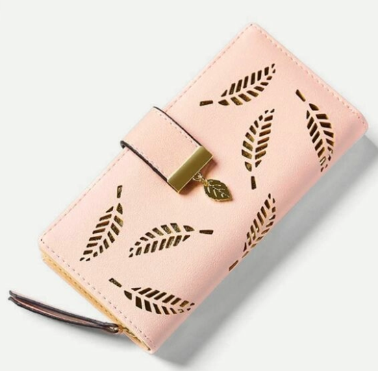 leaf purse  50+ gift ideas for her under £10