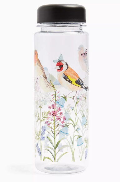 garden birds bottle  50+ gift ideas for her under £10