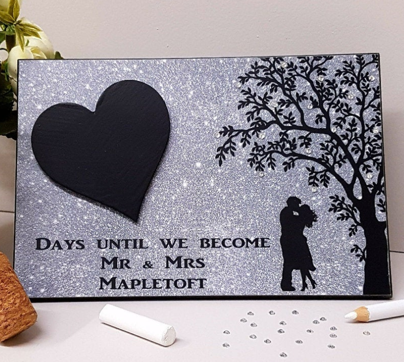 etsy wedding countdown the best engagement gifts for couples in 2020