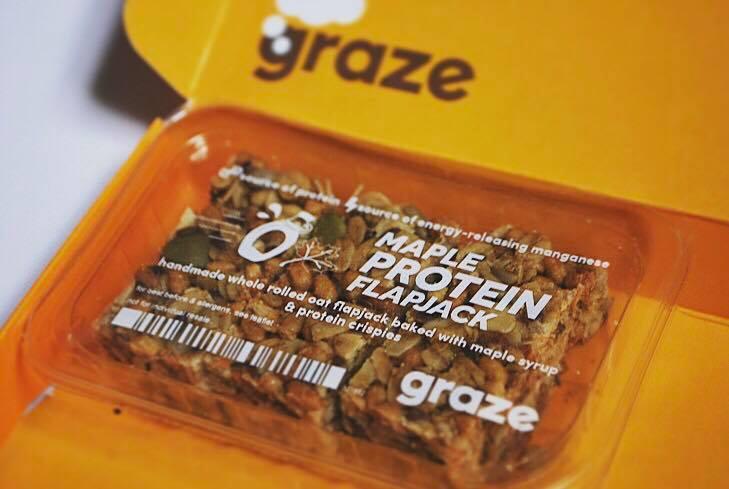 graze subscription box flapjack