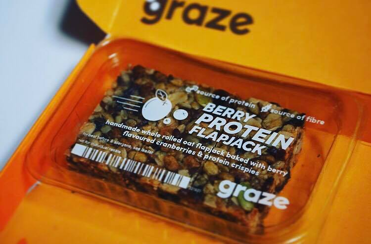 berry flapjack graze box
