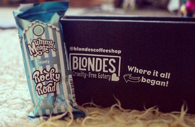 Mummy Meagz Vegan Rocky Road bars minty