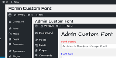 admin custom font Top 5 Plugins To Add Custom Fonts On WordPress