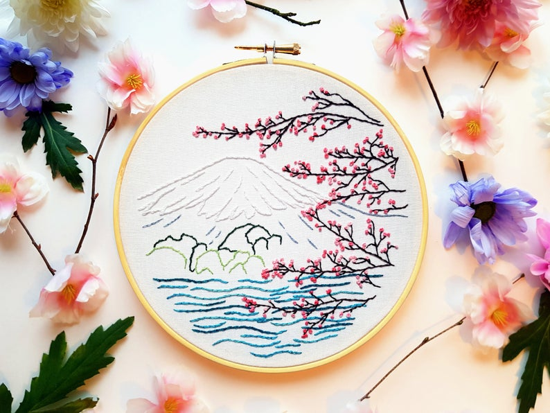craft kit embroidery gift